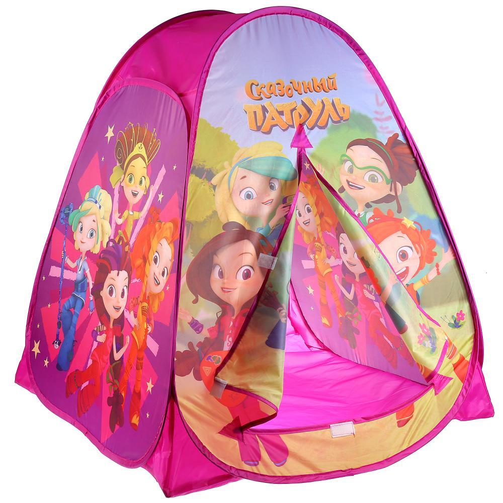 Купить Палатка детская игровая – Сказочный патруль, 81 х 90 х 81 см, в сумке, Играем вместе