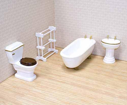 Мебель Ванная для викторианского домаКукольные домики<br>Мебель Ванная для викторианского дома<br>