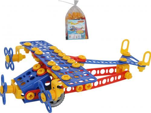 Конструктор Самолёт №2, 144 элементаКонструкторы Полесье<br>Конструктор Самолёт №2, 144 элемента<br>