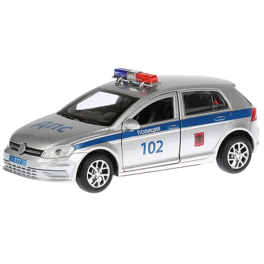 Купить Инерционная металлическая машина - Полиция, длина 12 см, Технопарк