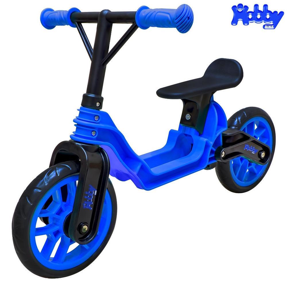 ОР503 Беговел Hobby bike Magestic, blue black