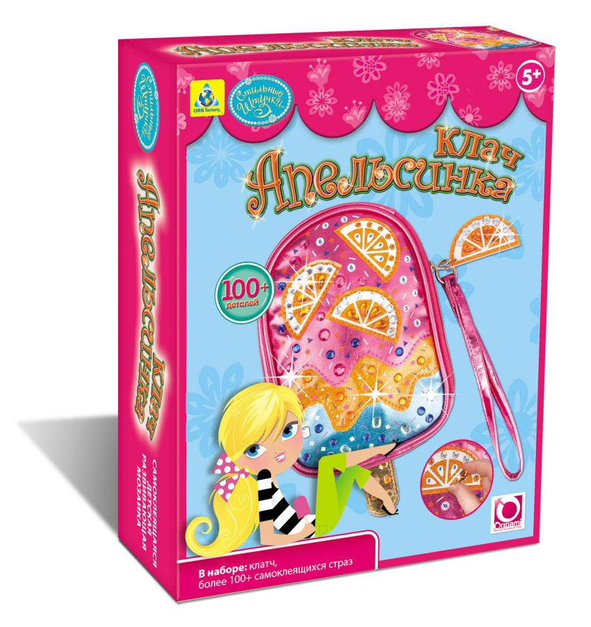 Мозаика-клатч  Апельсинка  - Сумки и рюкзачки Simba Color Me mine, артикул: 114173