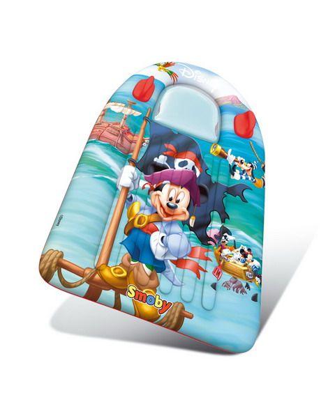 Disney надувной матрасНадувные животные, круги и матрацы<br>Надувной матрас для плавания из серии Disney. <br>Изготовлен из плотного синтетического материала, размер 95 * 50 см, предназначен для детей от 3-х лет.<br>Производитель - Smoby (Франция)<br>