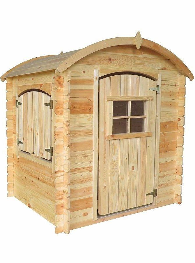 Игровой домик для детей из серии Оливер, базовый - Пластиковые домики для дачи, артикул: 161329