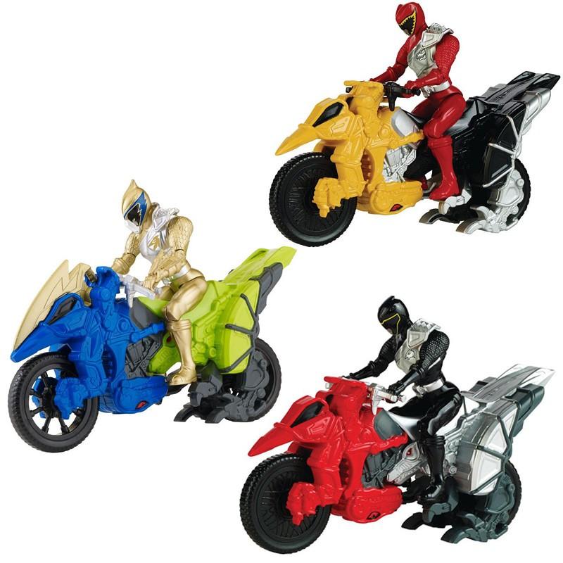 Динобайк + Фигурка супергерояPower Rangers (Могучие Рейнджеры)<br>Динобайк + Фигурка супергероя<br>