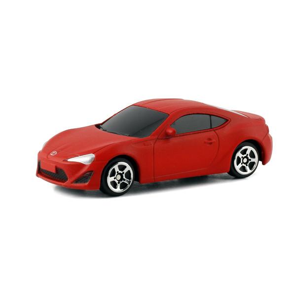 Машина металлическая Toyota 86, 1:64, красный матовый цветToyota<br>Машина металлическая Toyota 86, 1:64, красный матовый цвет<br>