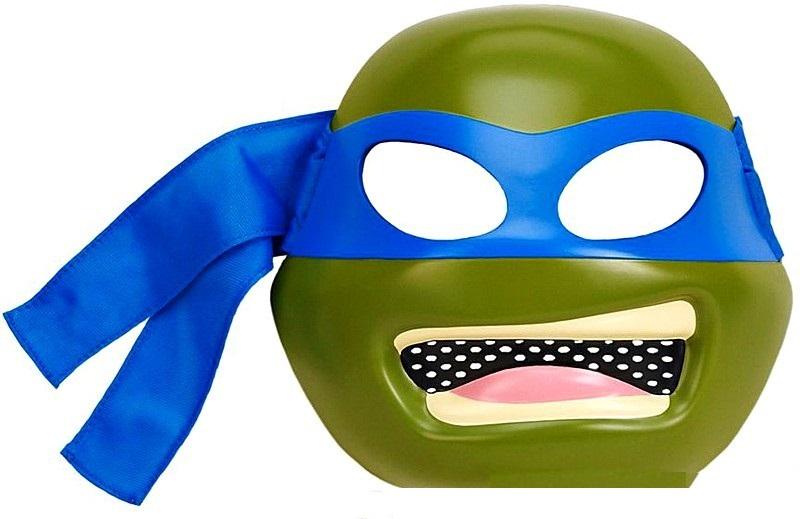 Маска Черепашек Ниндзя - Леонардо TmntКарнавальные маски и колпаки<br>Маска Черепашек Ниндзя - Леонардо Tmnt<br>