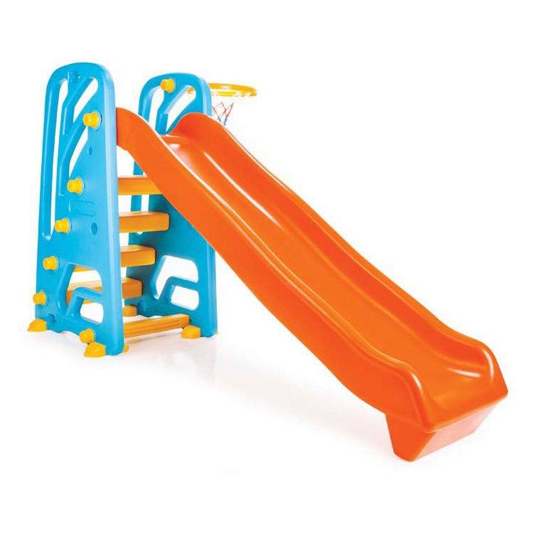 Горка-комплекс с баскетбольным кольцом - Детские игровые горки, артикул: 167662