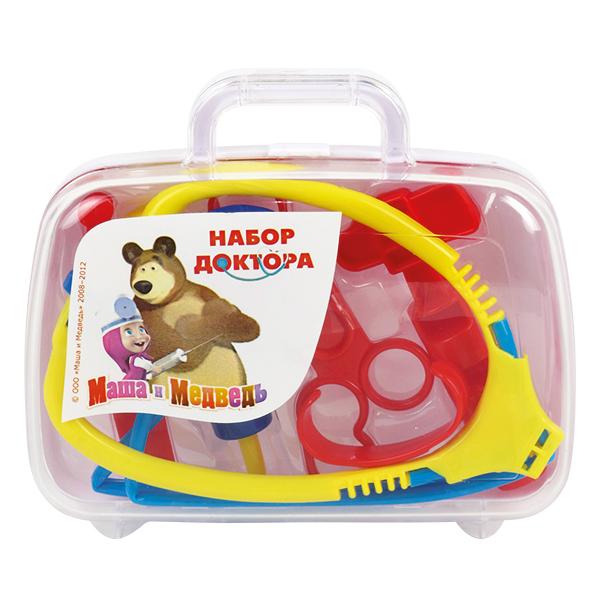 Купить Набор доктора «Маша и медведь», в пластиковом чемодане, Играем вместе
