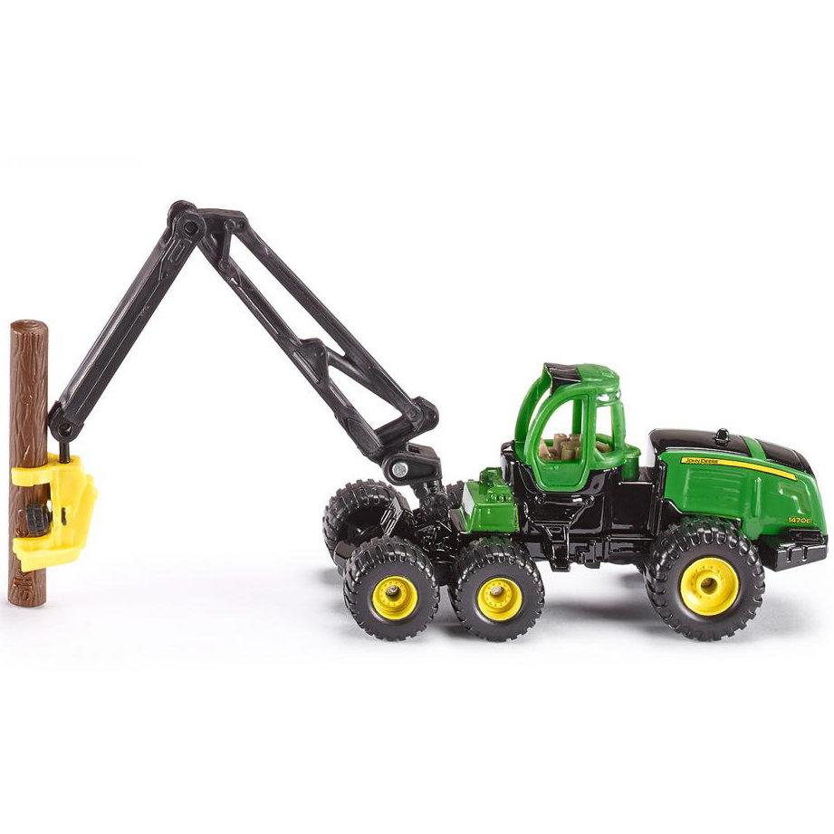 Купить Игрушечная модель - Трактор John Deere с манипулятором, Siku