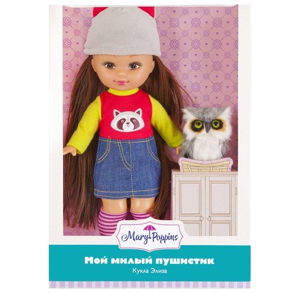 Купить Кукла Элиза с совенком из серии Мой милый пушистик, 26 см., Mary Poppins