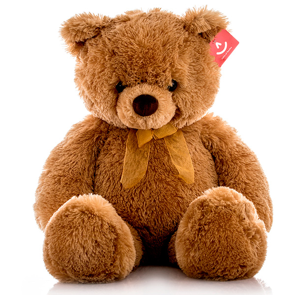Мягкая игрушка Медведь с бантиком, 65 см.Медведи<br>Мягкая игрушка Медведь с бантиком, 65 см.<br>