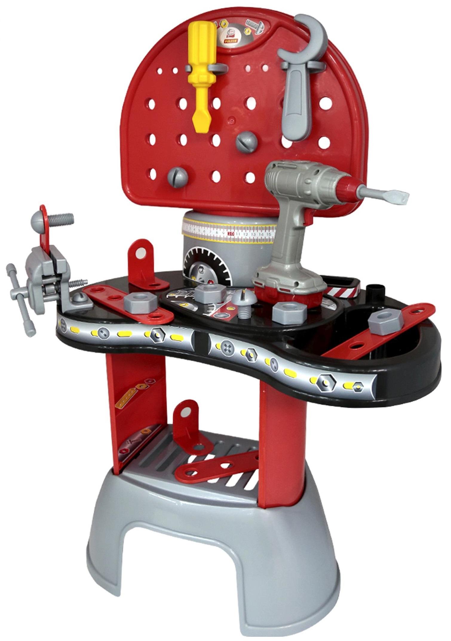 Набор Механик-макси, высота 75 см.Детские мастерские, инструменты<br>Набор Механик-макси, высота 75 см.<br>