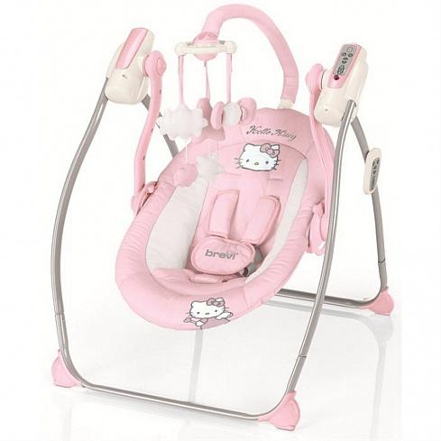 Качели - Miou, Hello KittyЭлектронные качели для детей<br>Качели - Miou, Hello Kitty<br>