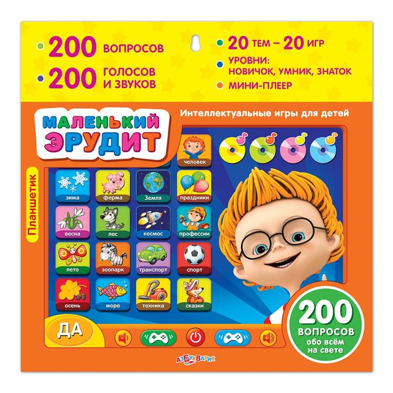 Планшетик - Маленький эрудит - Все обо всем, интеллектуальные игры для детейПланшеты, Электронные книги и плакаты<br>Планшетик - Маленький эрудит - Все обо всем, интеллектуальные игры для детей<br>