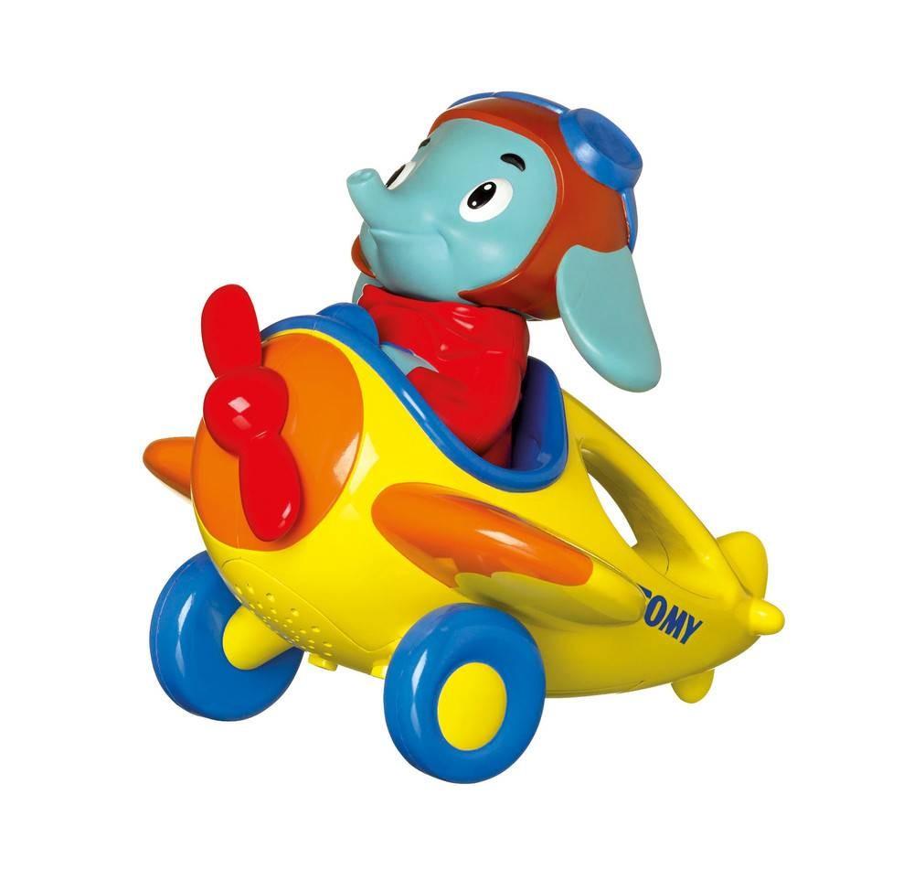 Развивающая игрушка - Веселые виражи Летчика ЛюкаМашинки для малышей<br>Развивающая игрушка - Веселые виражи Летчика Люка<br>