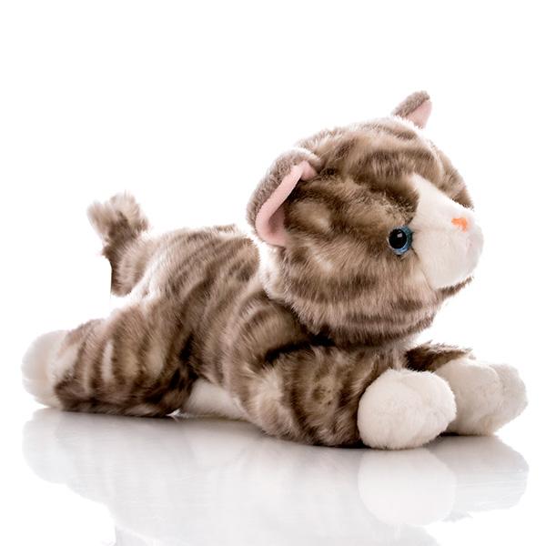 Игрушка мягкая - Котенок серый, 28 см.Коты<br>Игрушка мягкая - Котенок серый, 28 см.<br>