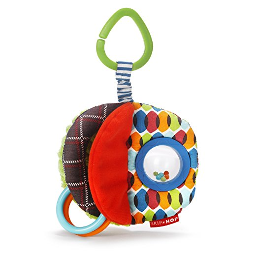 Развивающая игрушка-подвеска - МячикРазвивающая дуга. Игрушки на коляску и кроватку<br>Развивающая игрушка-подвеска - Мячик<br>