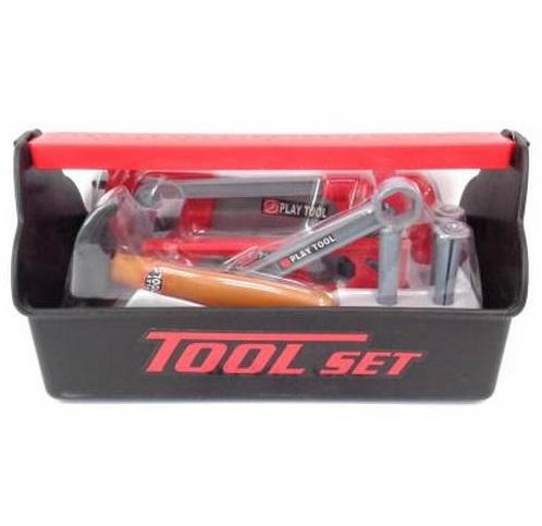 Игровой набор инструментов, 19 предметовДетские мастерские, инструменты<br>Игровой набор инструментов, 19 предметов<br>