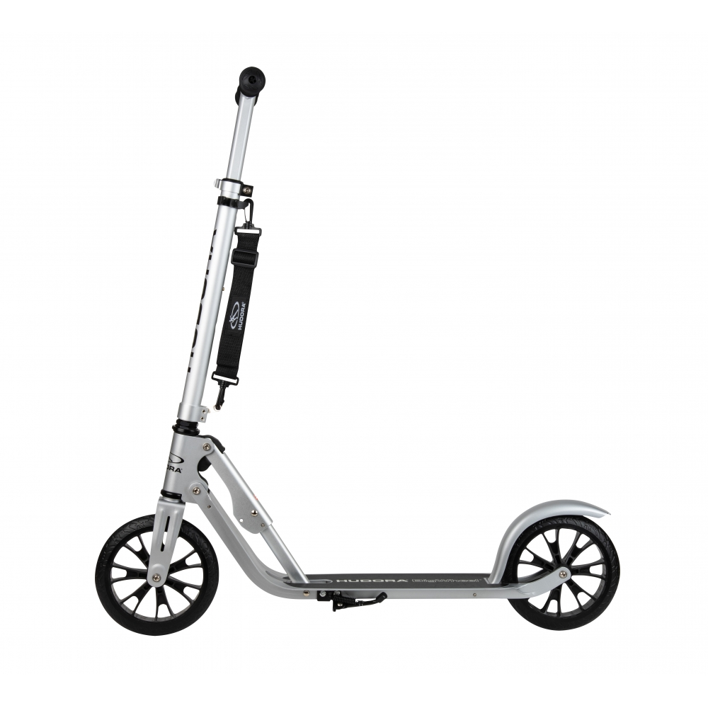 Самокат 2х колесный - Hudora Big Wheel Crossover 205, silver фото
