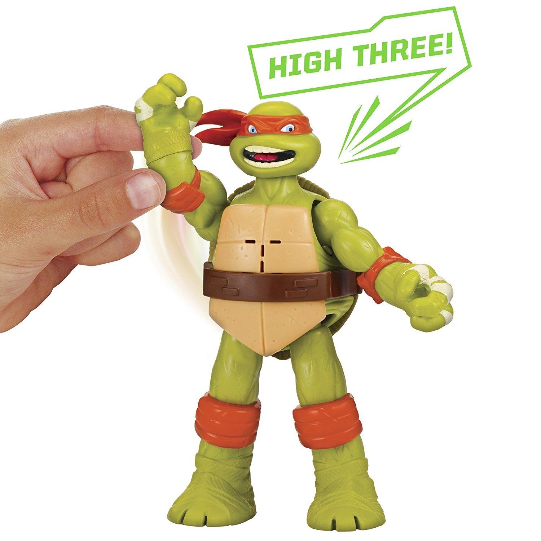 Купить Фигурка Майк – Клич ниндзя. Черепашки-ниндзя, 15 см, Playmates
