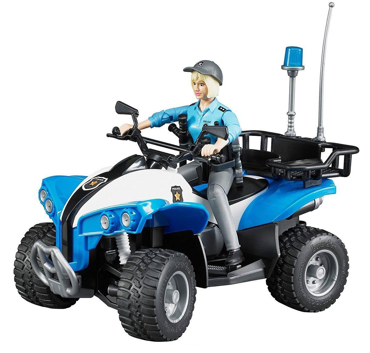 Полицейский квадроцикл с фигуркойФургоны и машины<br>Полицейский квадроцикл с фигуркой<br>