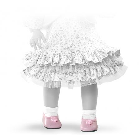 Туфли розовые для кукол 42 смОдежда для кукол<br>Туфли розовые для кукол 42 см<br>