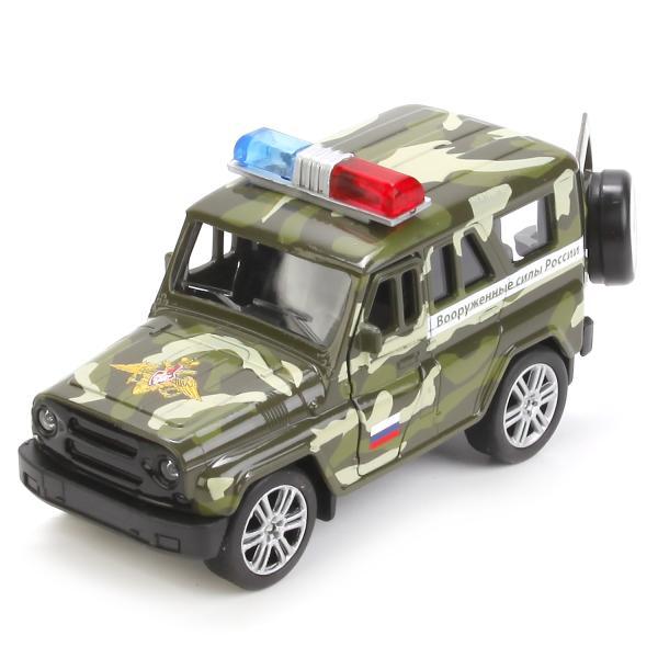 Купить Инерционная металлическая модель UAZ Huntеr ВС 11, 5 см, Технопарк