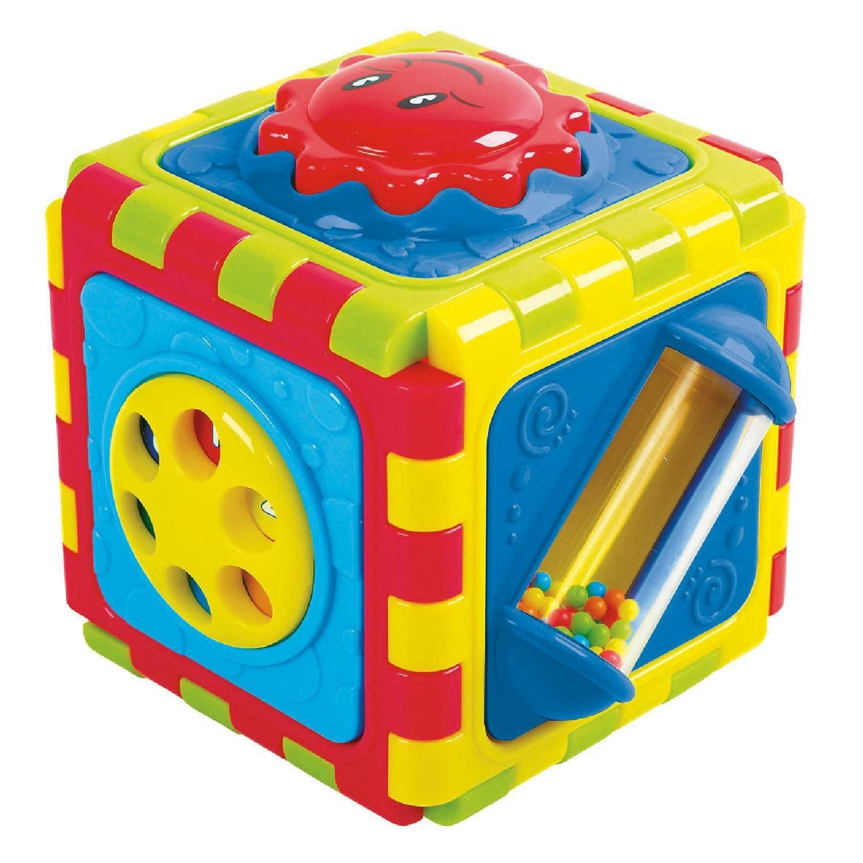 Развивающая игрушка - Куб, 6 в 1Развивающие игрушки PlayGo<br>Развивающая игрушка - Куб, 6 в 1<br>