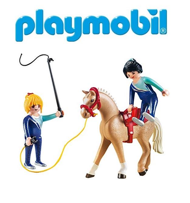 Купить Игровой набор - Вольтижировка для прыжков, Playmobil