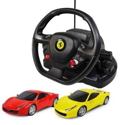 Купить Радиоуправляемая машина - Ferrari 458 Italia, масштаб 1:18, Rastar