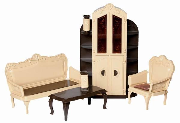 Игровой набор мебели для гостиной серии КоллекцияКукольные домики<br>Игровой набор мебели для гостиной серии Коллекция<br>