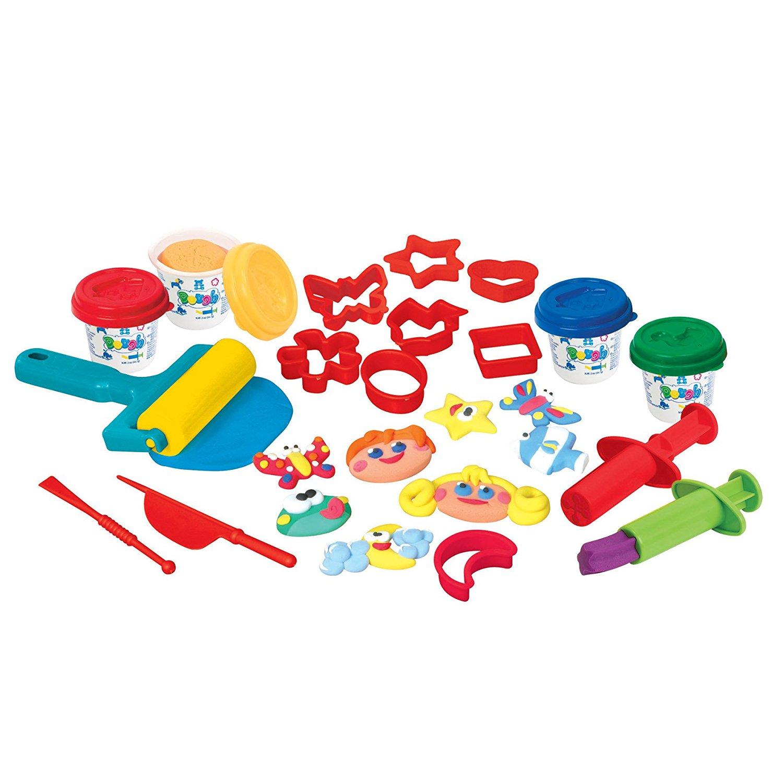 Набор с пластилином - Забавная семейкаНаборы для лепки<br>Набор с пластилином - Забавная семейка<br>