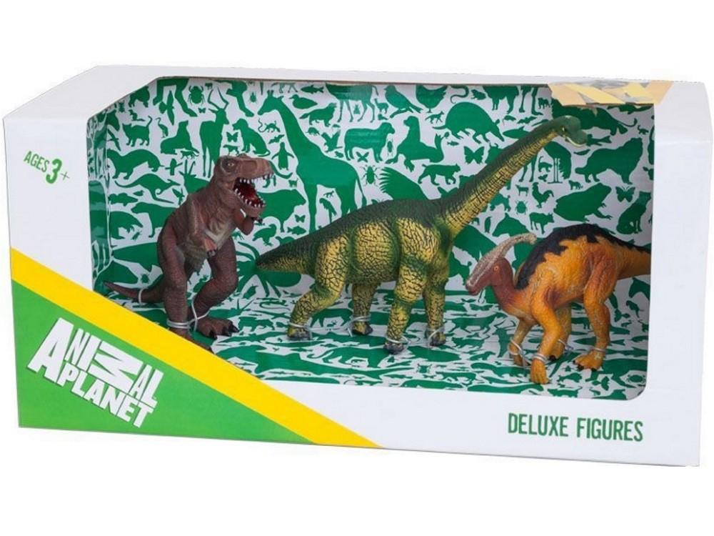 Набор Animal Planet – Динозавры-1, 3 штукиЖизнь динозавров (Prehistoric)<br>Набор Animal Planet – Динозавры-1, 3 штуки<br>