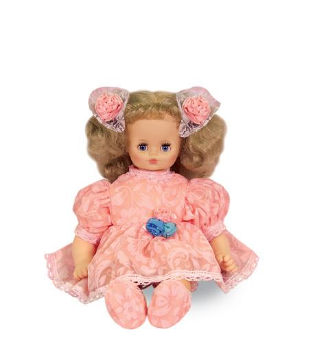 Озвученная кукла, мягконабивная - Вероника 3Русские куклы фабрики Весна<br>Озвученная кукла, мягконабивная - Вероника 3<br>