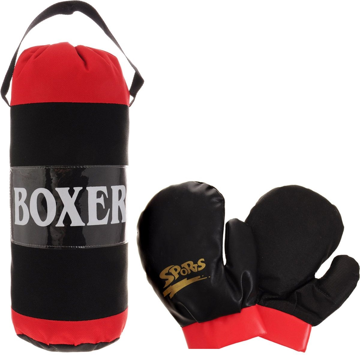 Купить Набор боксерский с грушей и перчатками, JUNFA TOYS