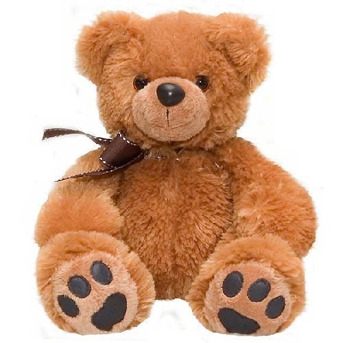 Медведь темно-коричневый 50 см - Медведи, артикул: 24882