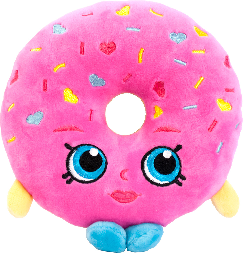 Мягкая игрушка – Пончик Делиш из серии Шопкинс, 20 см.Shopkins (Шопкинс)<br>Мягкая игрушка – Пончик Делиш из серии Шопкинс, 20 см.<br>