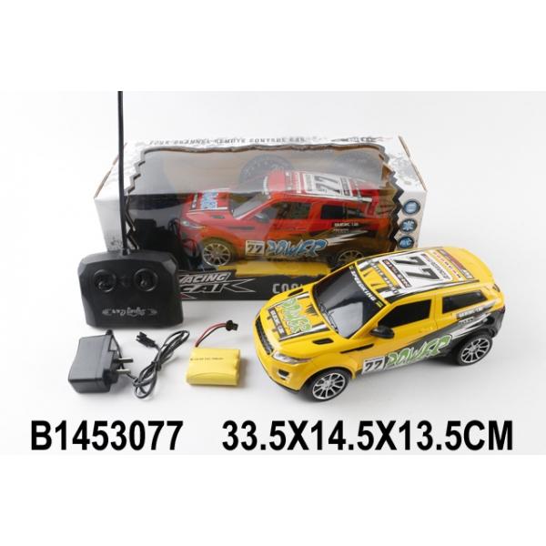 картинка Радиоуправляемая машина на аккумуляторе, со светом от магазина Bebikam.ru