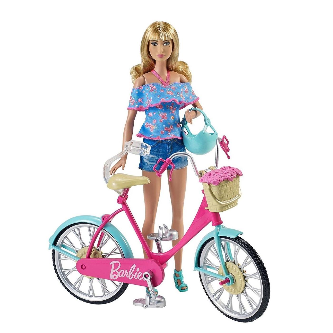 Barbie ВелосипедКуклы Barbie (Барби)<br>Barbie Велосипед<br>