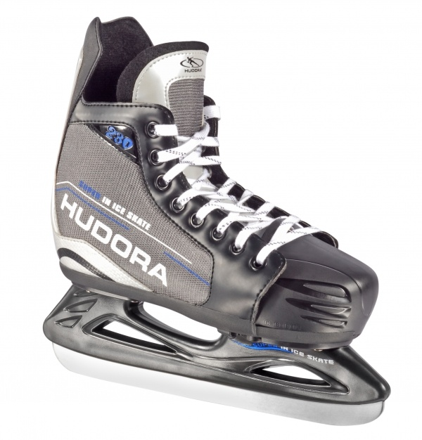 Коньки хоккейные раздвижные, размер 28-31, grau