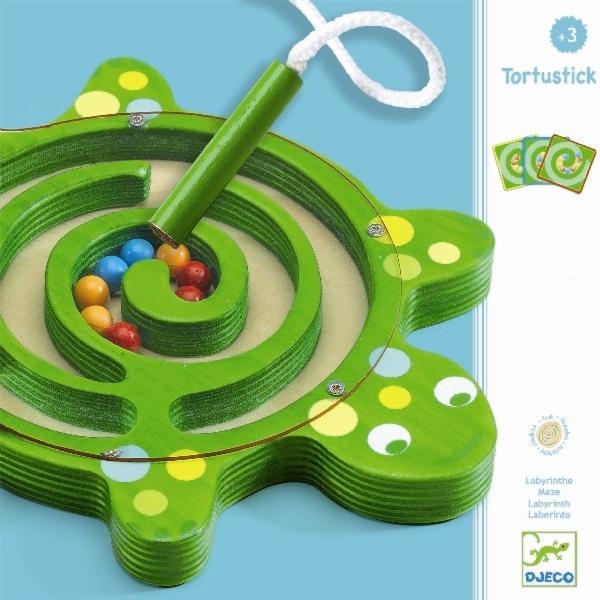 Настольная игра Лабиринт – Черепаха, Djeco  - купить со скидкой