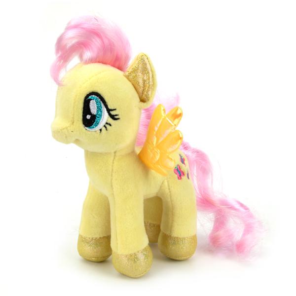 Мягкая игрушка пони Флеттершай из мультфильма «My Little Pony», 18 см., озвученная с русским чипомМоя маленькая пони (My Little Pony)<br>Мягкая игрушка пони Флеттершай из мультфильма «My Little Pony», 18 см., озвученная с русским чипом<br>