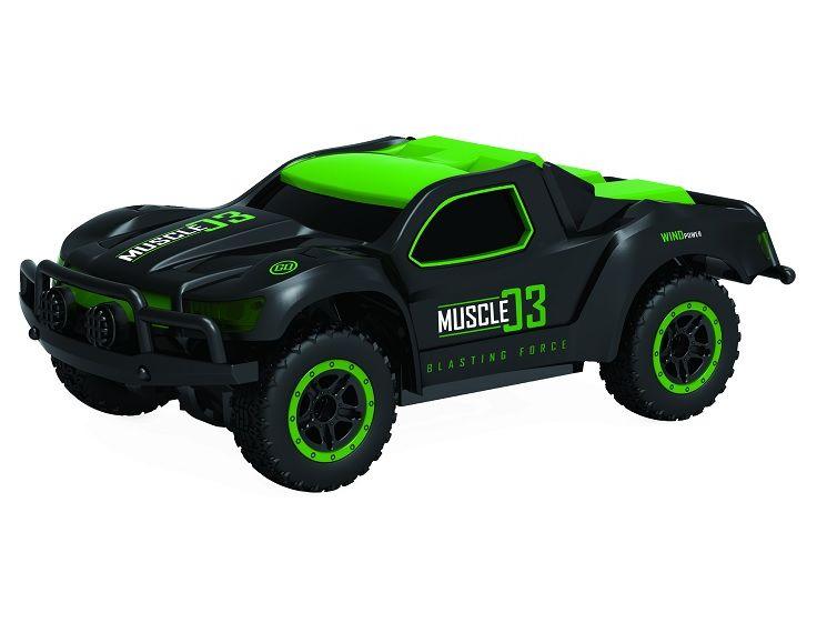 картинка Раллийная машина Драйв на радиоуправлении, 2,4GHz, 4WD, масштаб 1:43, скорость до 14 км/ч, курковый пульт, TPR шины, с АКБ, зеленый от магазина Bebikam.ru