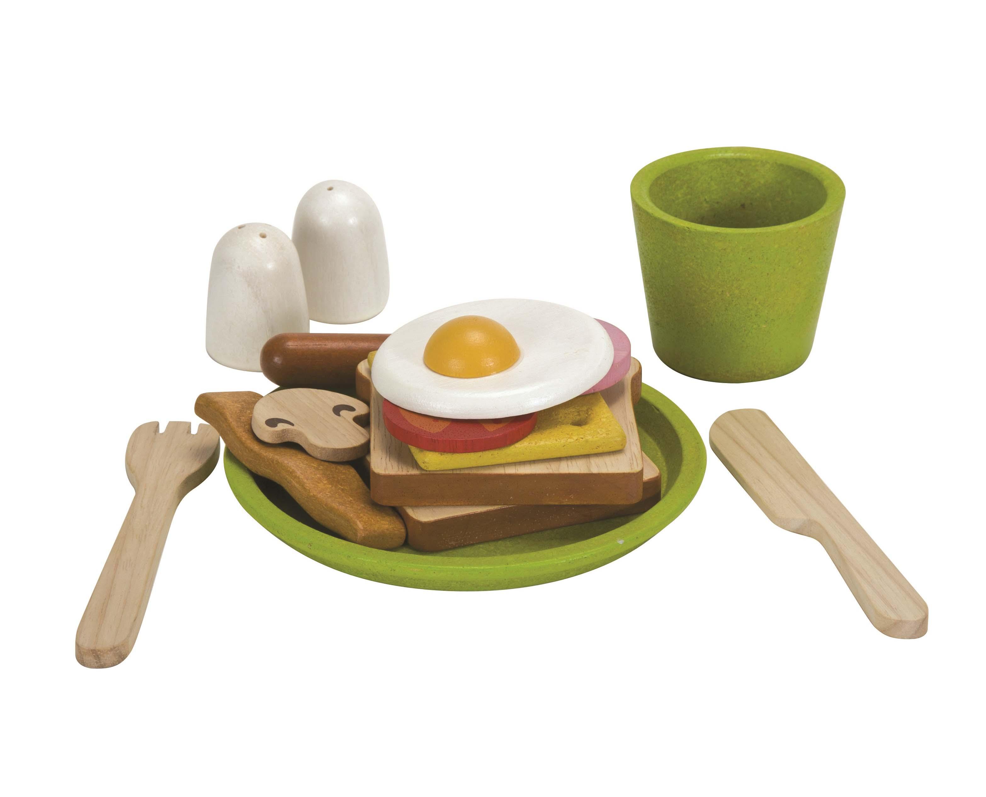 Купить Сюжетно-ролевая игра - Завтрак, Plan Toys