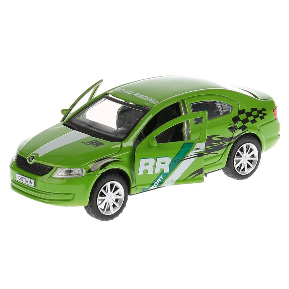 Купить Металлическая инерционная модель – Skoda Octavia Спорт, 12 см, Технопарк