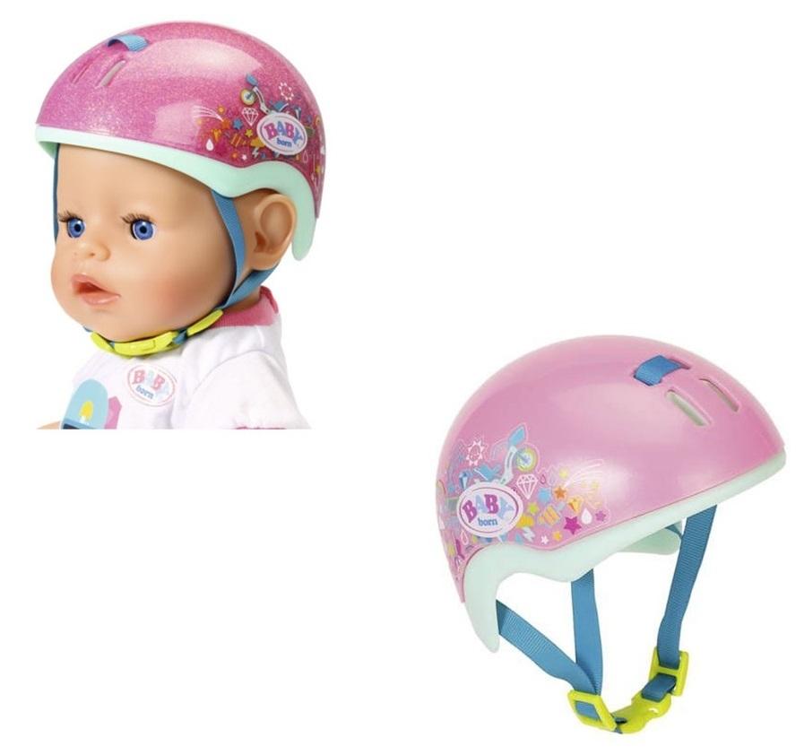Купить Одежда для кукол Baby born - Шлем для активного отдыха, 43 см, блистер, Zapf Creation
