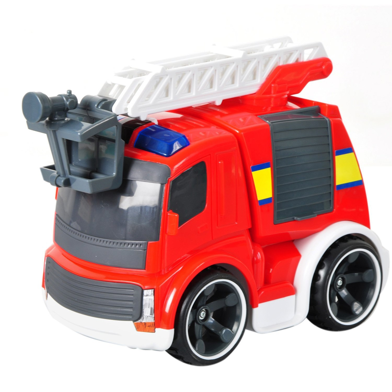 Пожарная машина Power in Fun на ИК-управлении, свет и звукПожарная техника, машины<br>Пожарная машина Power in Fun на ИК-управлении, свет и звук<br>