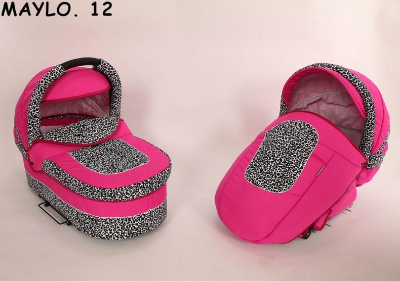 Коляска Baby-Merc Maylo Classic 2 в 1, цвет – 12Детские коляски 2 в 1<br>Коляска Baby-Merc Maylo Classic 2 в 1, цвет – 12<br>