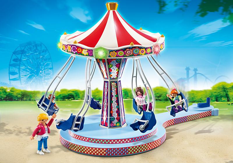Купить Игровой набор из серии «Парк развлечений» - Аттракцион «Карусель», Рlaymobil